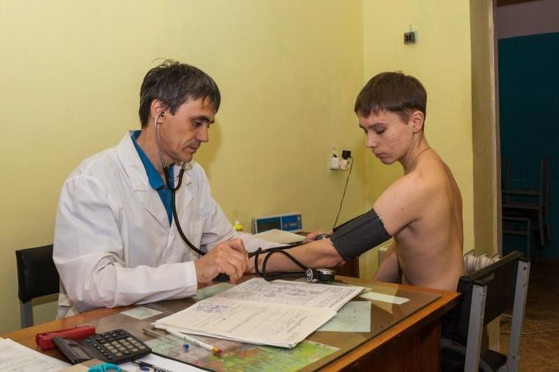 Обследование на медкомиссии