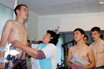 С каким весом не берут в армию - таблица ИМТ для призывника
