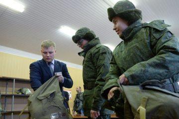 Что взять с собой в армию призывнику